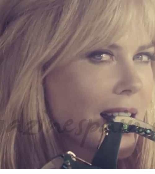 Nicole Kidman juguetona y seductora