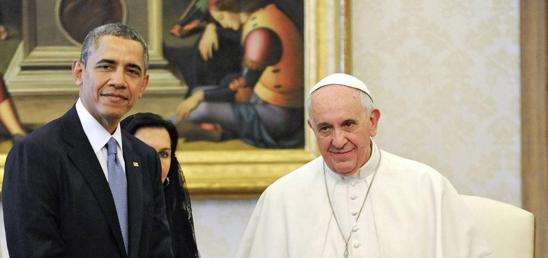 Encuentro histórico entre Barack Obama y el Papa Francisco