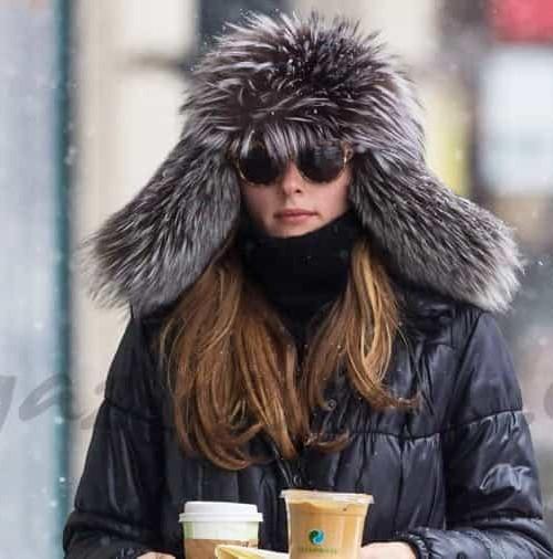 Olivia Palermo todo un estilo, para ir a comprar el desayuno