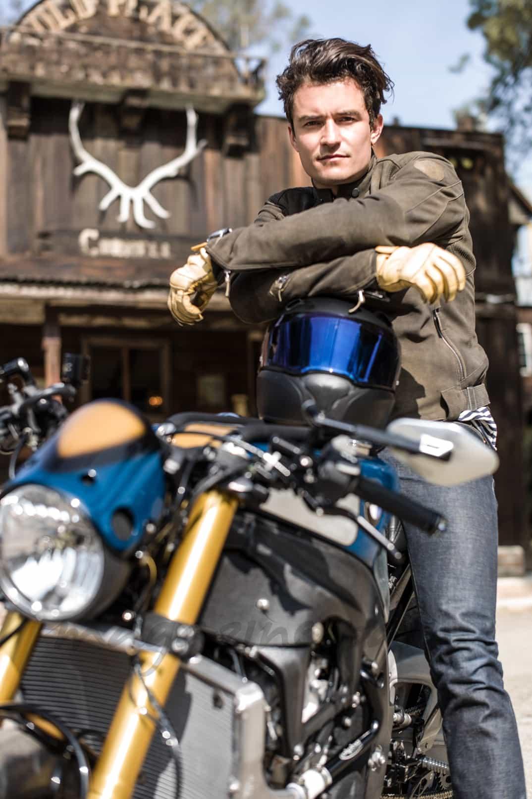 Orlando Bloom y sus motos