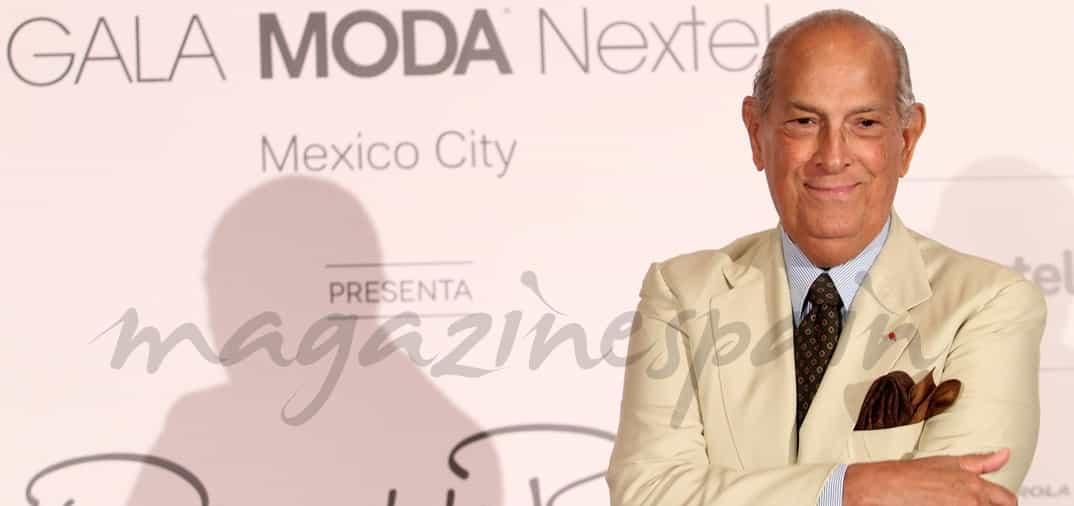 Víctima del cáncer, fallece a los 82 años, Óscar de la Renta