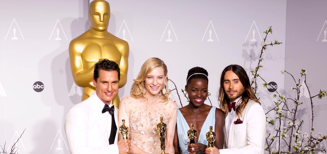 Premiados en la «86 Edición de los Oscar de Hollywood»