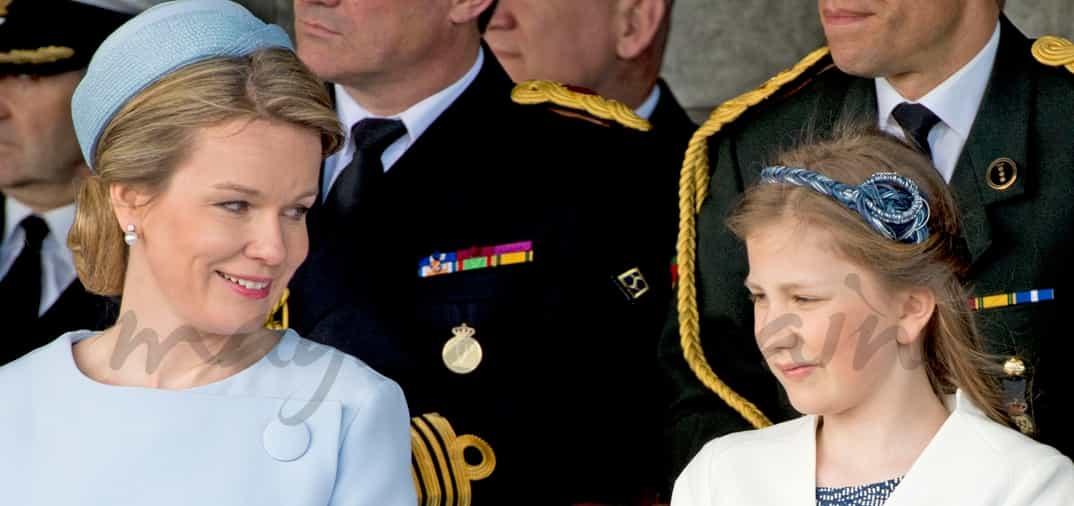 Elisabeth de Bélgica primer acto oficial