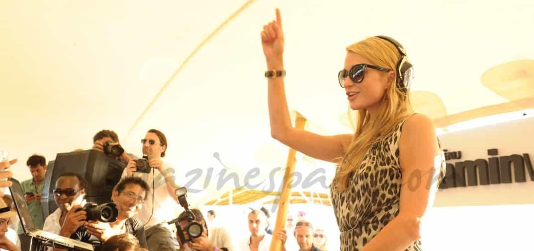 Paris Hilton DJ en Punta del Este