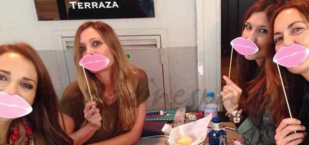 Paula Echevarría y sus amigas comprometidas con el cáncer de mama