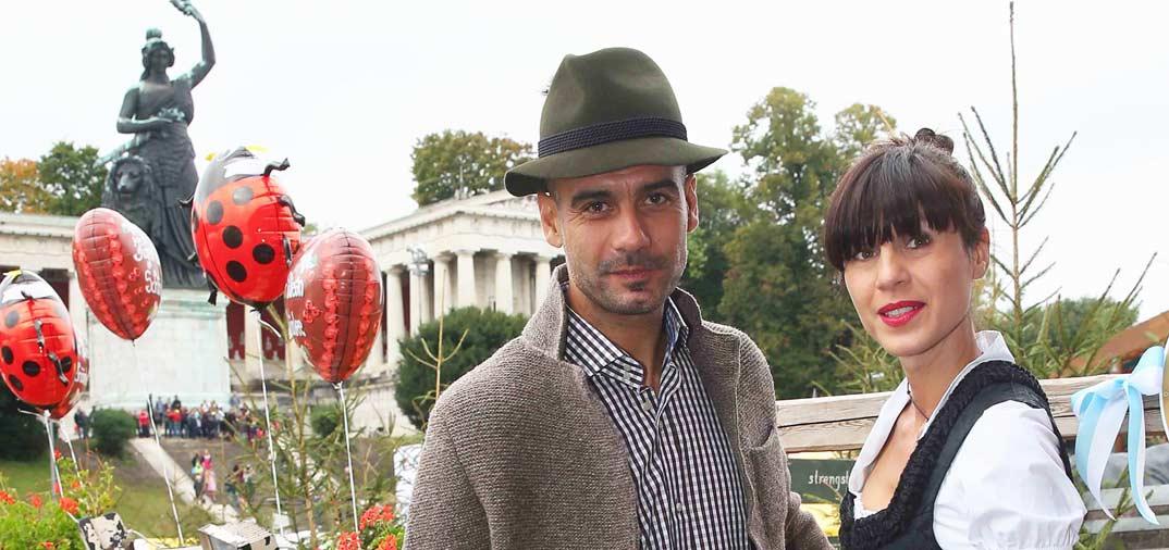 Después de 20 años de relación, Pep Guardiola y Cristina Serra se han casado