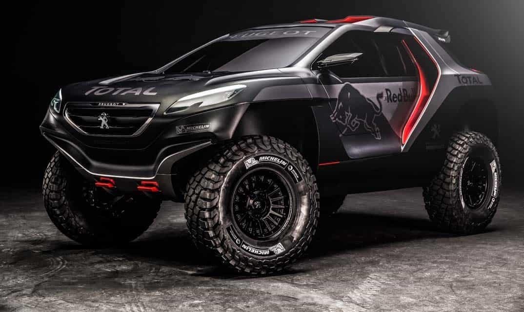 Peugeot Dakar de Carlos Sainz