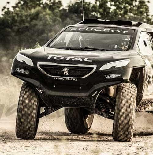 Peugeot asombra con el 2008 DKR