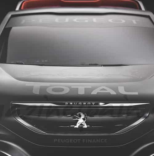"""El Peugeot """"Dakar"""" de Carlos Sainz"""