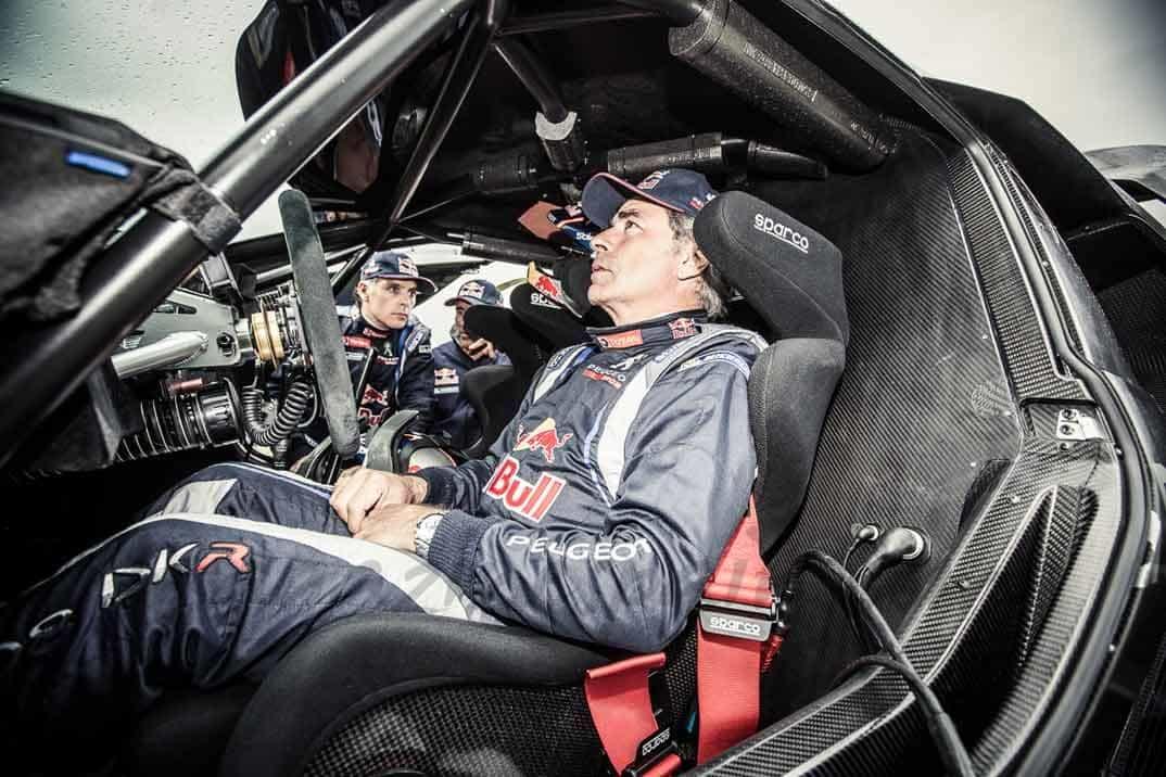 Carlos Sainz en el Peugeot 2008 DKR