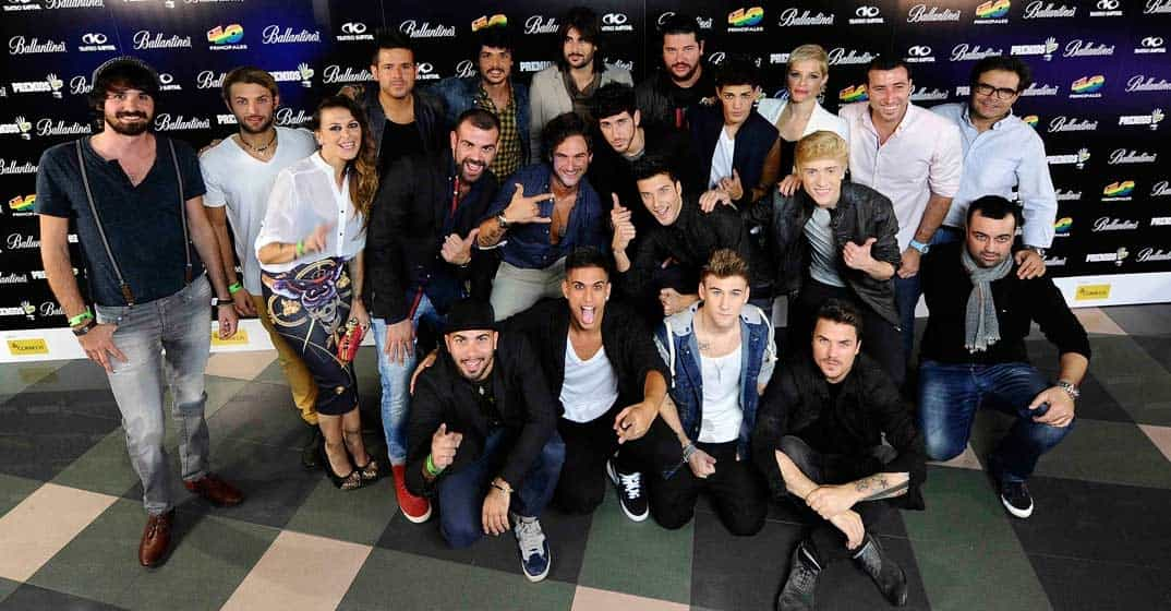 No te pierdas esta noche  la Gala de los Premios 40 Principales 2013