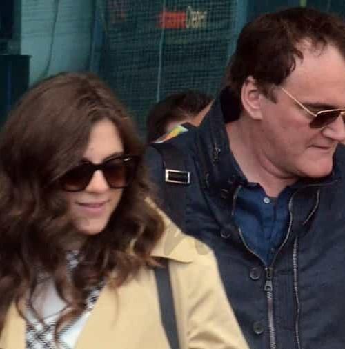 Quentin Tarantino y su nueva novia