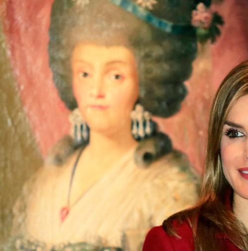 La Reina Letizia debuta en solitario