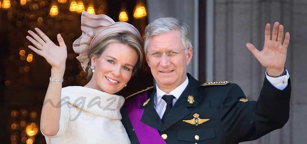 Felipe y Matilde los nuevos Reyes de Bélgica