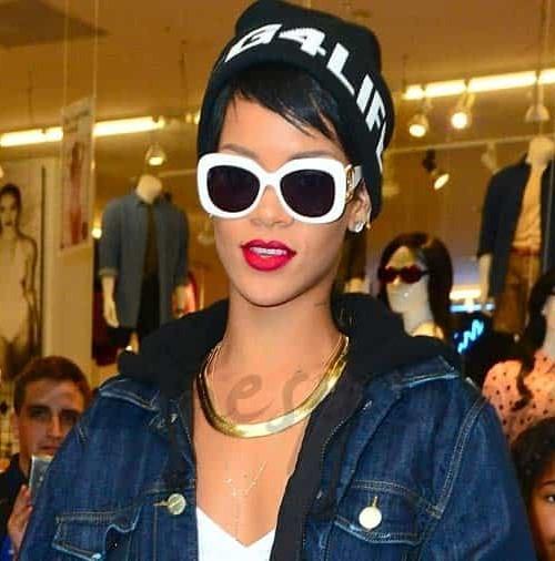 """Rihanna, con estilo """"casual"""""""