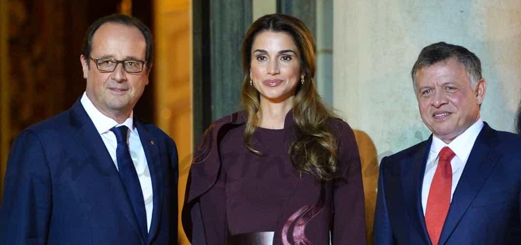 Rania de Jordania conquista París