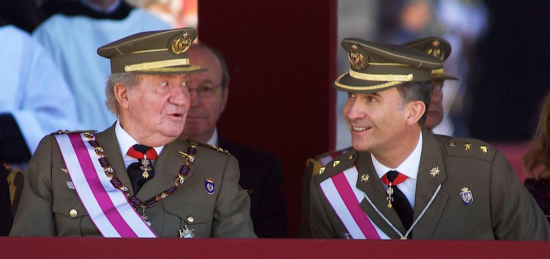 Primer acto oficial del príncipe Felipe, tras ser nombrado heredero