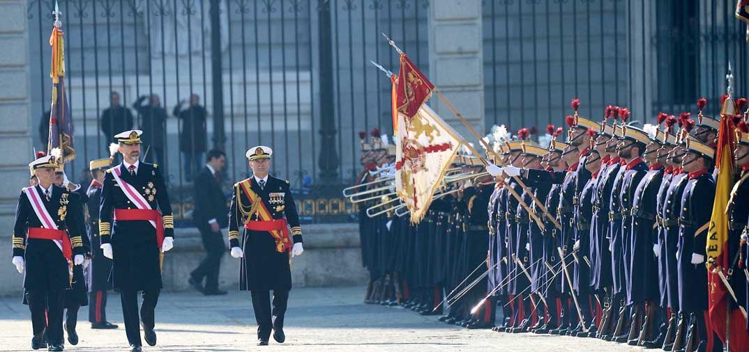 Primera Pascua Militar como Reyes de España