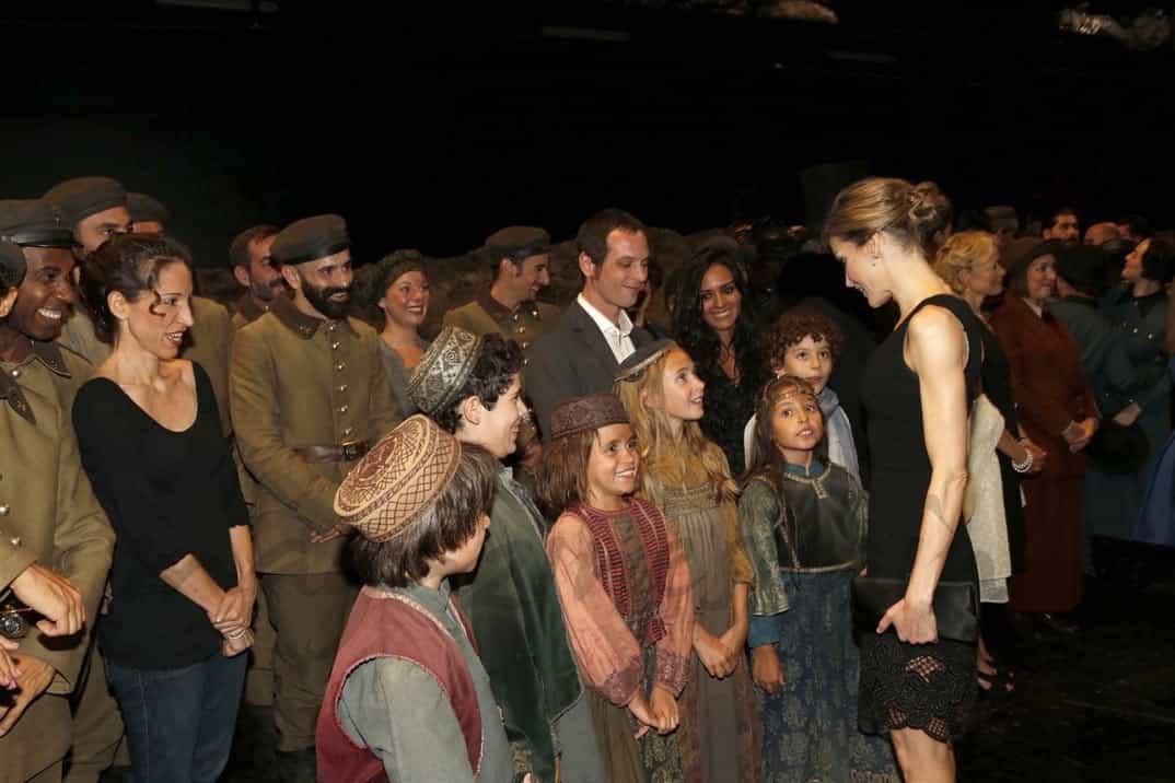 Rey Felipe con la reina Letizia en el Teatro Real © Casa de S.M. el Rey