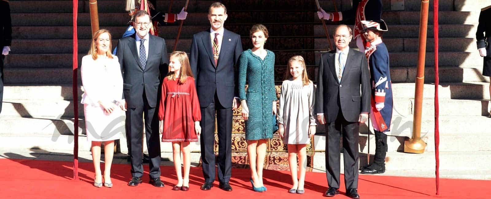 La princesa Leonor y infanta Sofía 'debutan' en una Apertura de Legislatura