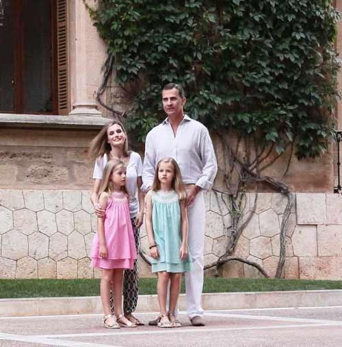 Primer posado como Reyes en Palma de Mallorca