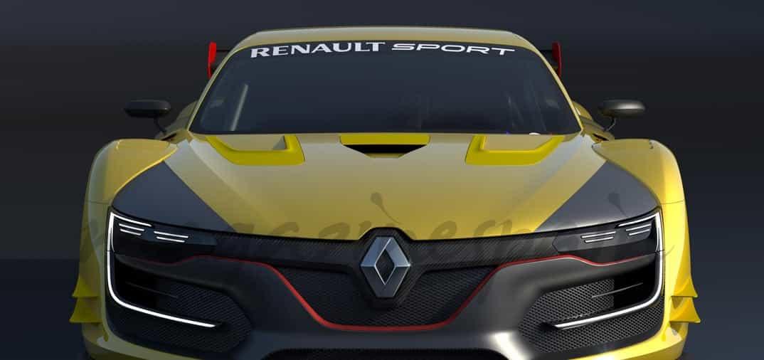 Nuevo Renault Sport R S 01 Renderings 2014: Renault Sport R.S. 01