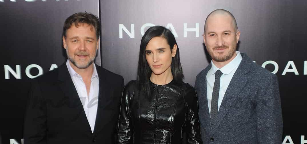 Russell Crowe, Emma Watson y Jennifer Connelly, en el estreno mundial de «NOÉ»