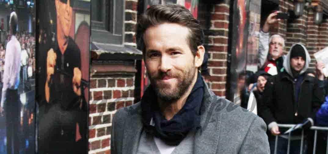 Ryan Reynolds feliz papá