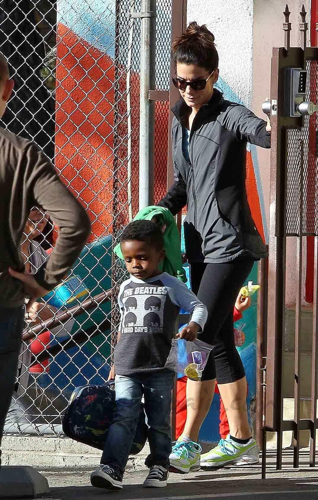 Sandra Bullock y Louis