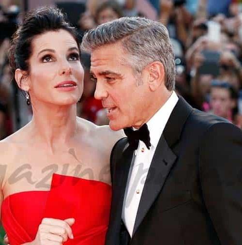 George Clooney y Sandra Bullock pareja del año