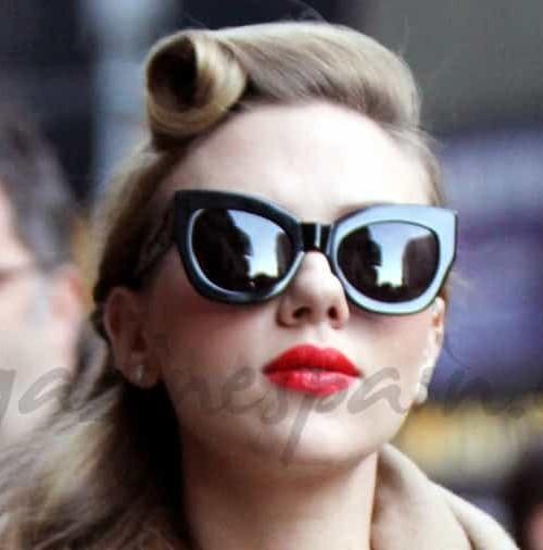 Scarlett Johansson, estilo años 50