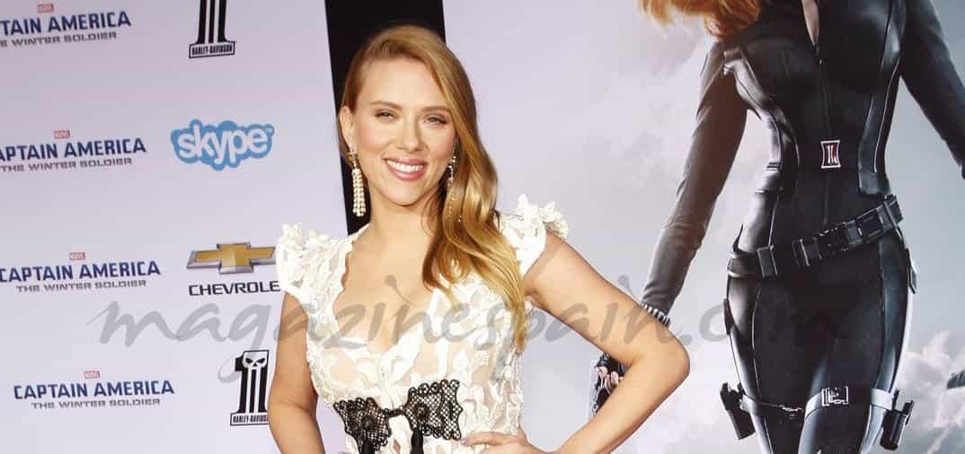 Scarlett Johansson presume de embarazo