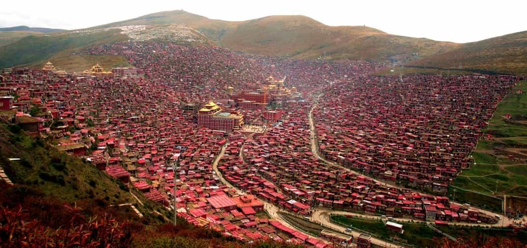 La increíble ciudad de los budistas