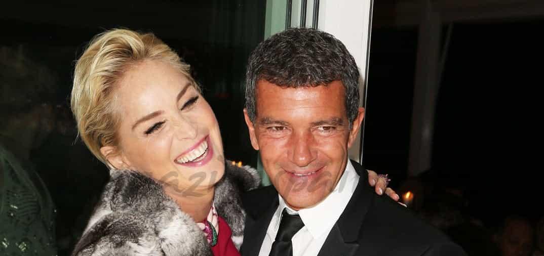 Antonio Banderas y Sharon Stone… ¿Pareja sorpresa?