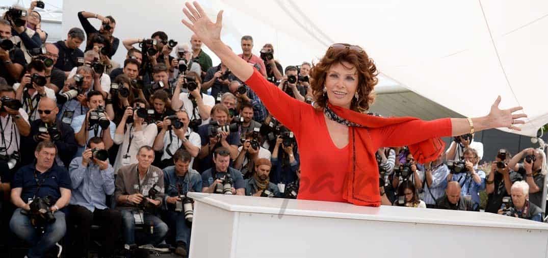 Sofia Loren cumplirá 80 años en septiembre