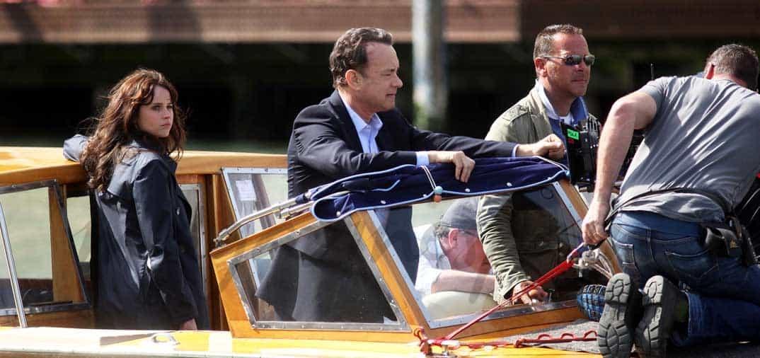 Tom Hanks y Felicity Jones de nuevo juntos