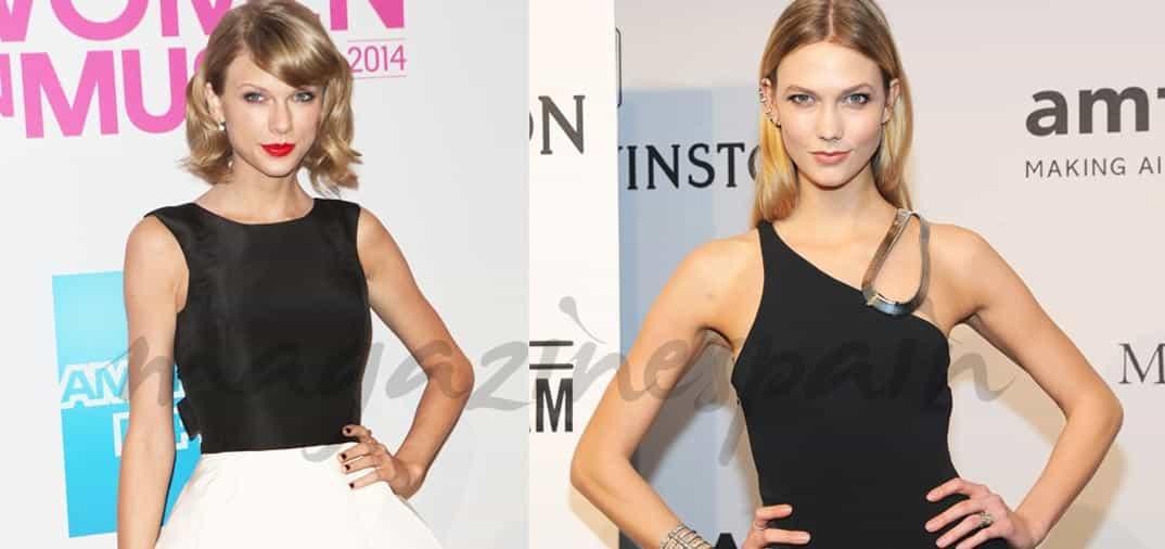 Taylor Swift y Karlie Kloss mujeres poderosas