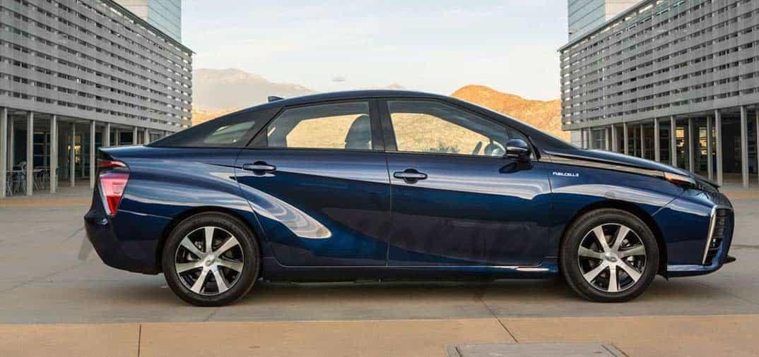 Toyota Mirai, nuevo coche de hidrógeno