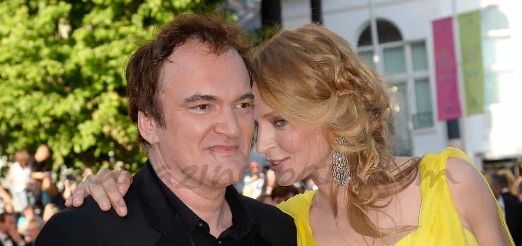 Uma Thurman y Quentin Tarantino pareja sorpresa