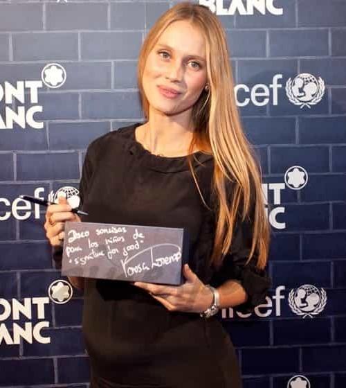 Vanesa Lorenzo solidaria