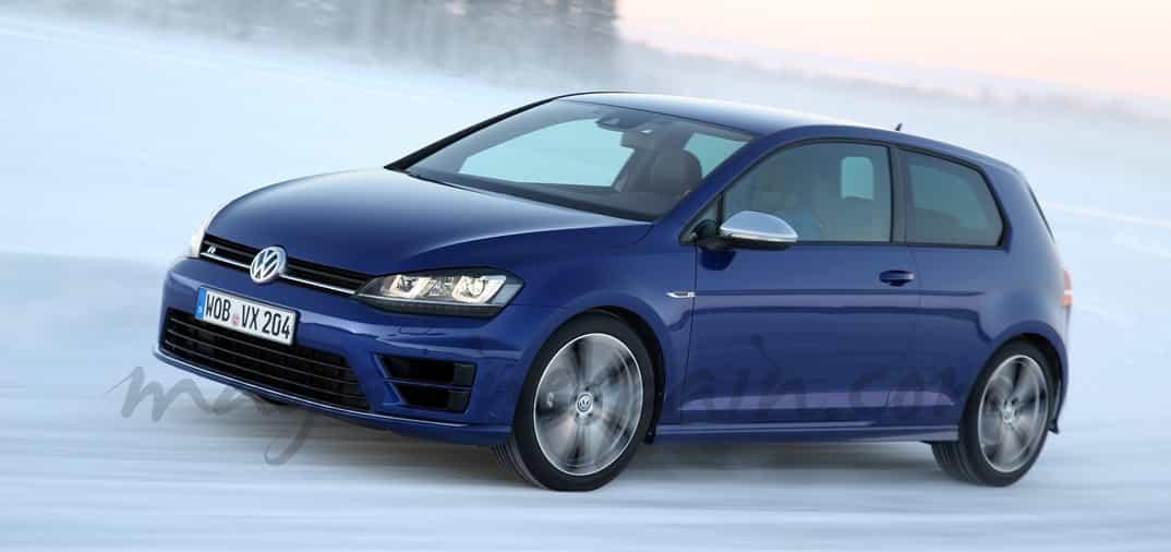 Volkswagen Golf R, 300 CV y tracción 4Motion