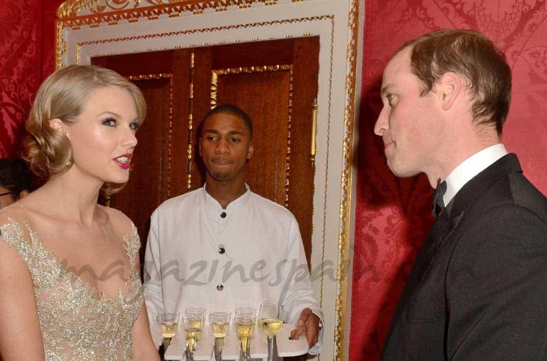 Principe Guillermo y Taylor Swift