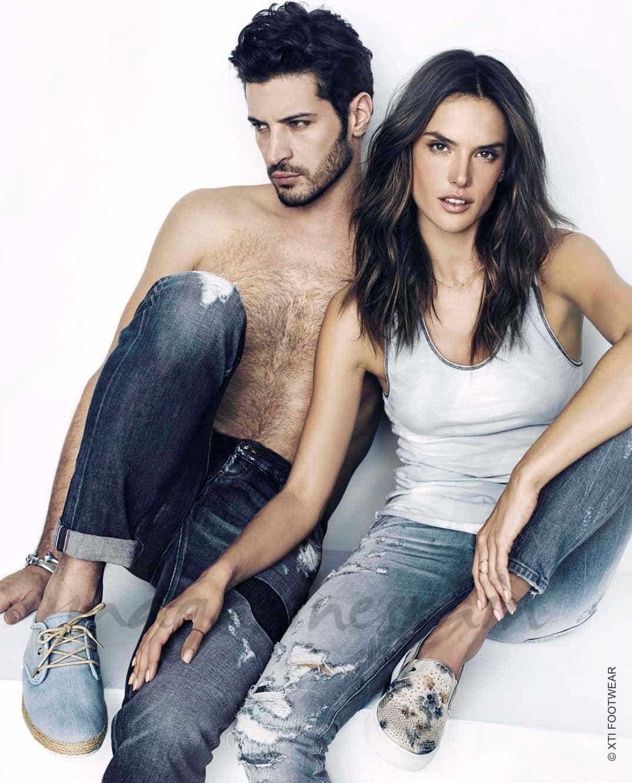 Alessandra Ambrosio y Leandro Lima