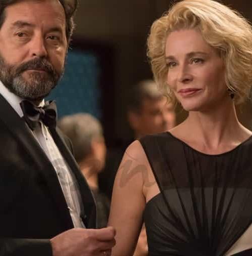 "Belén Rueda es Claudia en la serie ""La Embajada"""