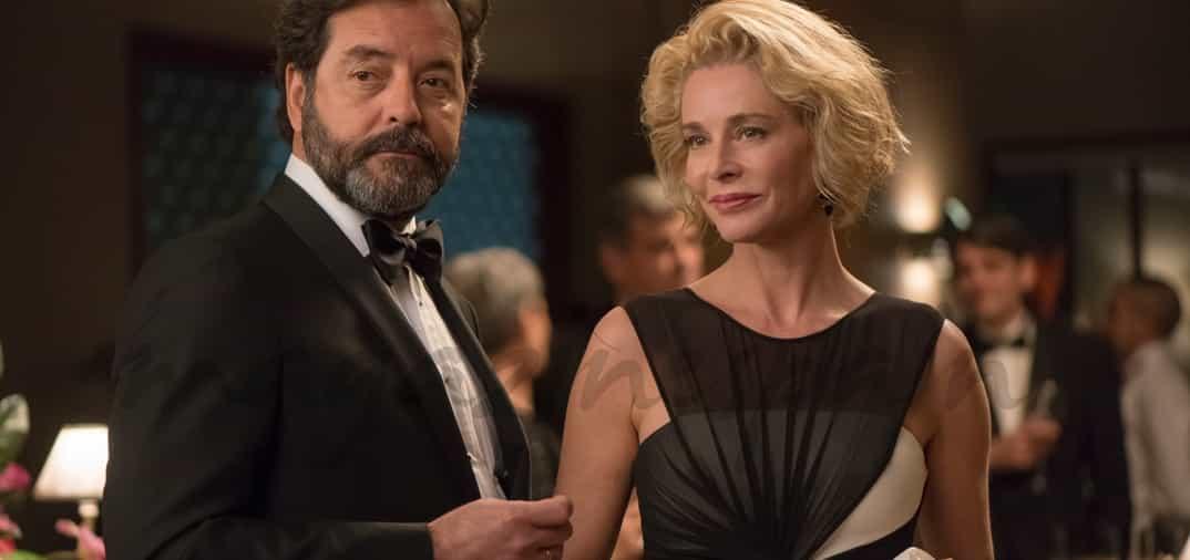 Belén Rueda es Claudia en la serie «La Embajada»