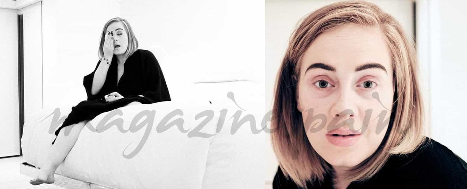 Adele… Al natural