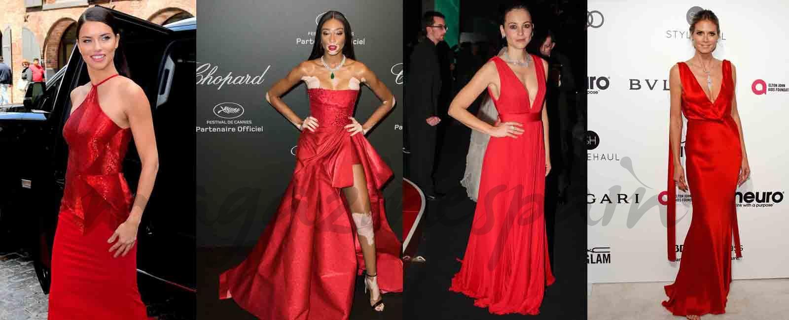 Las celebrites apuestan por el color rojo en 2017- Parte II