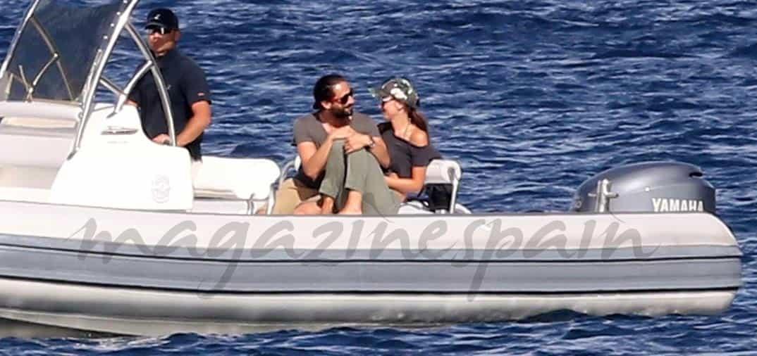 Adrien Brody y Lara Lieto vacaciones en Cerdeña
