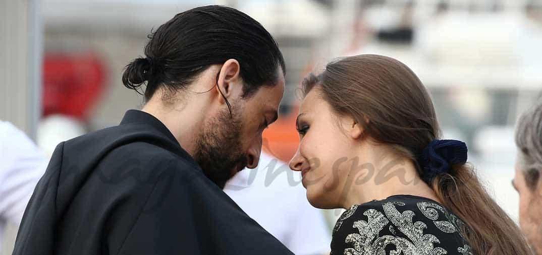 Adrien Brody y la modelo Lara Lieto, vacaciones en St.Tropez