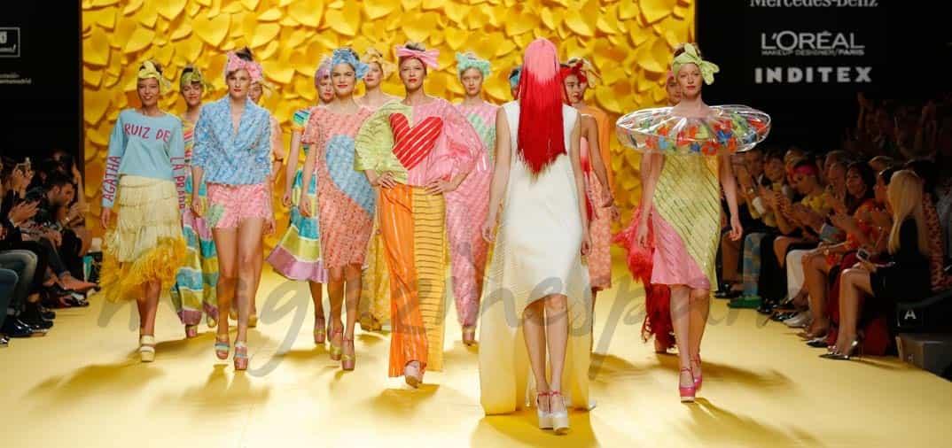 Madrid Fashion Week 2015: Ágatha Ruiz de la Prada